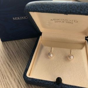 Mikimoto Akoya Pearl Stud Earrings